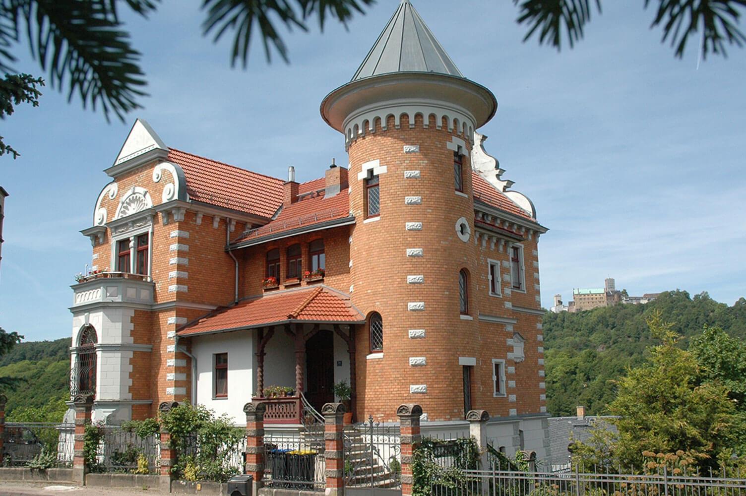 Südviertel – wandern entlang des Villenviertels Eisenach