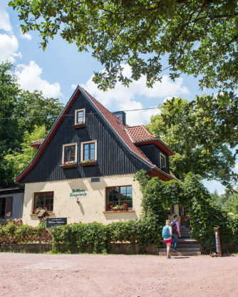Rast bei der Sängerwiese Eisenach